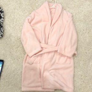 Pink bath robe